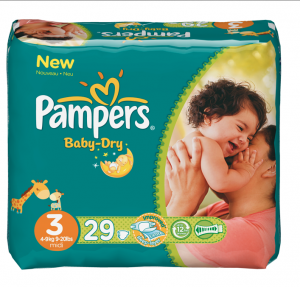 Les Nouvelles Couches Pampers Baby Dry Doudou Amp Stiletto