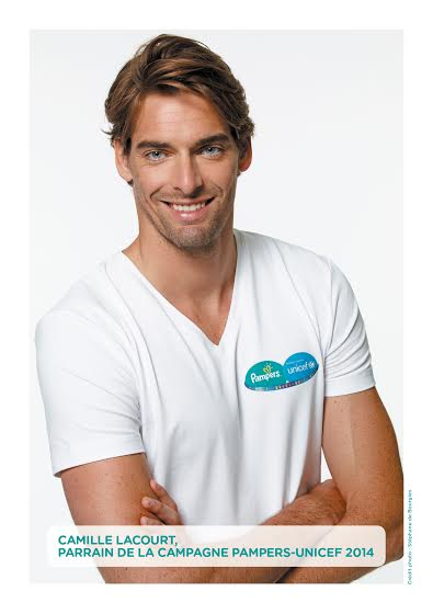 camille lacourt pampers unicef