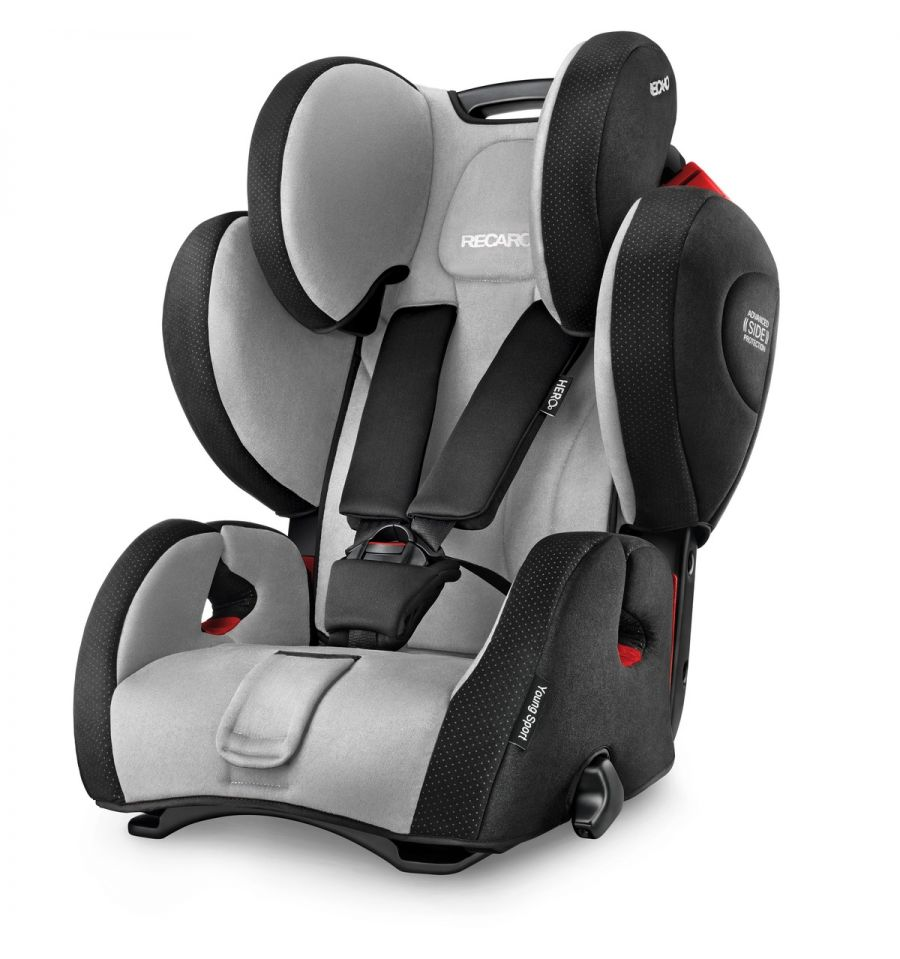 test produit le si ge auto young sport hero de recaro doudou stiletto. Black Bedroom Furniture Sets. Home Design Ideas