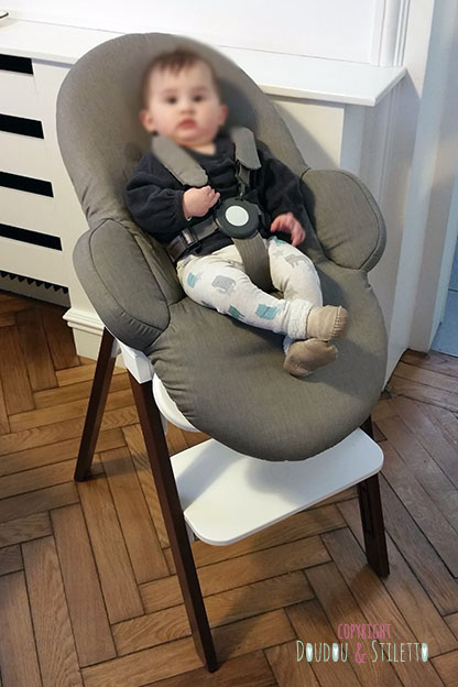test produit le transat steps de stokke doudou stiletto. Black Bedroom Furniture Sets. Home Design Ideas