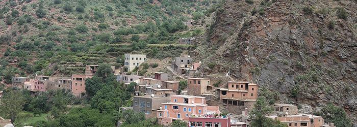 La Vallée de l'Ourika, Maroc