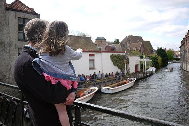 Bruges en famille