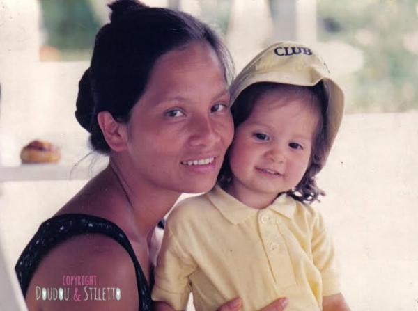 Elle et moi, il y a 25 ans...