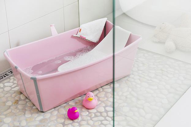 Stokke Flexi Bath Pink 140402-9