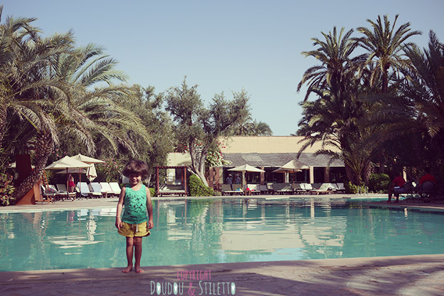 Club med marrakech - copyright Doudou et Stiletto