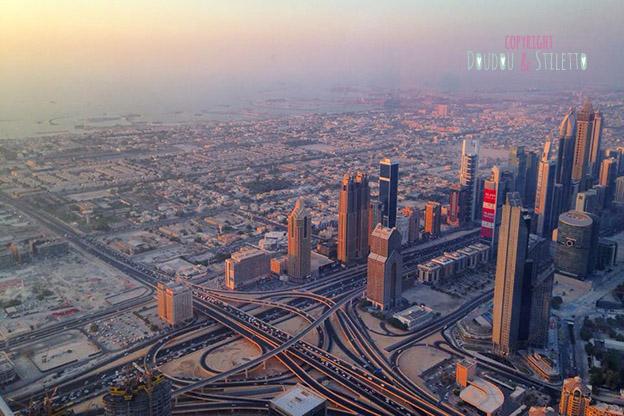 Dubai vue Burj Khalifa