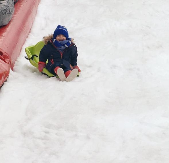 Charlety sur neige