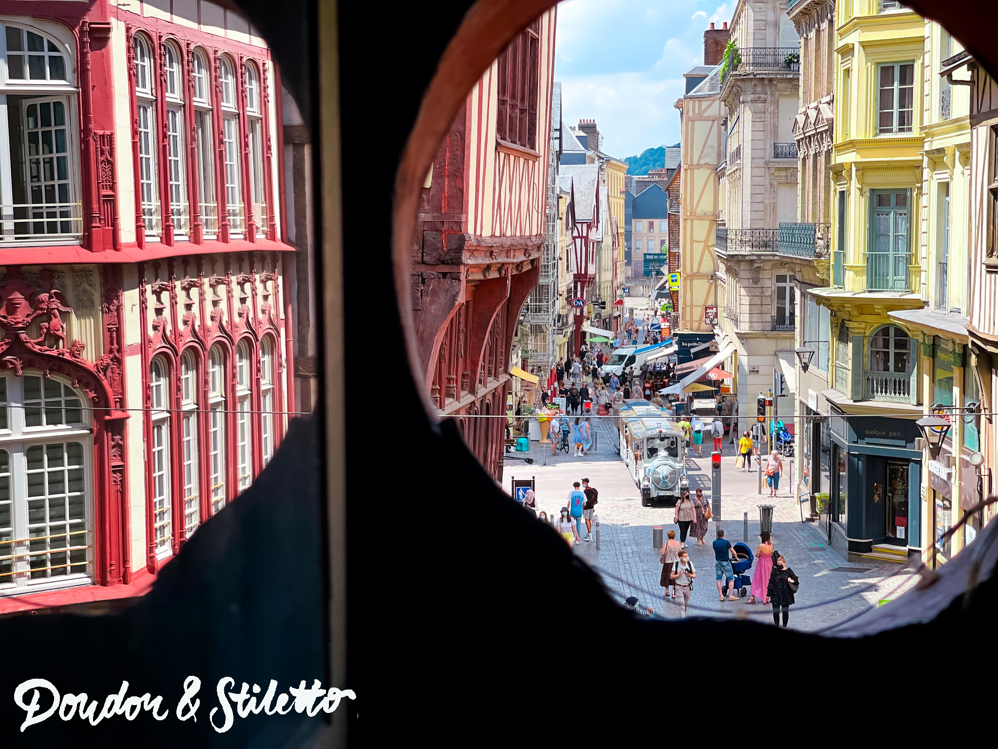 Rouen - Le gros Horloge1