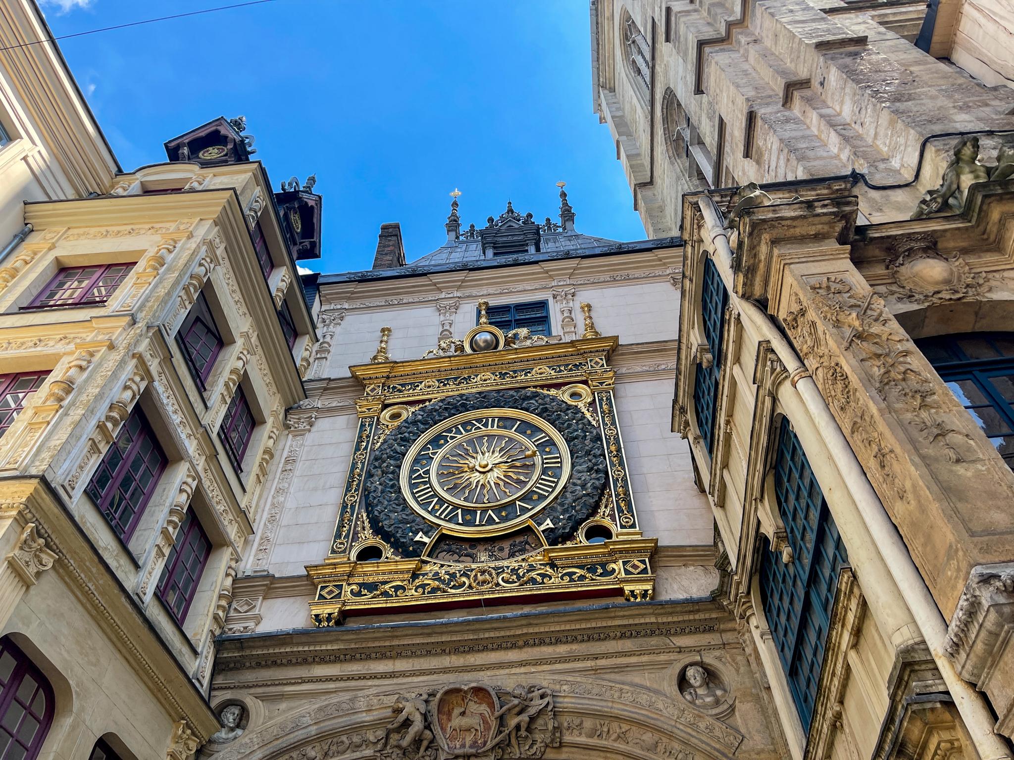 Rouen gros horloge3